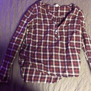 Flannel dress up shirt